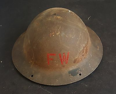 WW2 or Interwar period Brodie style helmet