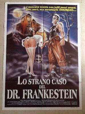 Dr FRANKENSTEIN GENERAL HOSPITAL 1989 Italian Movie Poster 2Foglio 1000mmX1400mm
