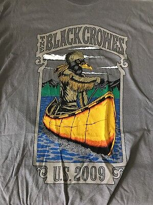 The Black Crowes 2009 Shirt Large