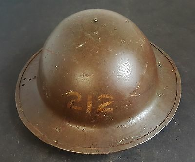British Army WW2 helmet