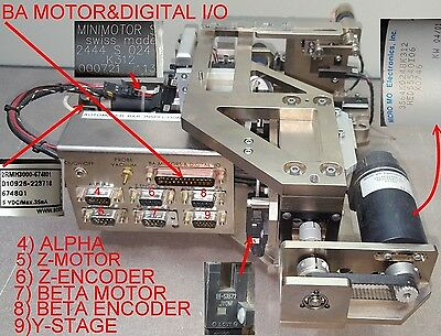 Automated Bar Inspection System Parts