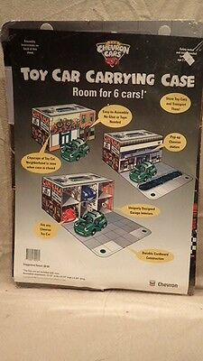 CHEVRON CARS 1998 CARRYING CASE NEVER REMOVED Gas Station Oil Company Promo