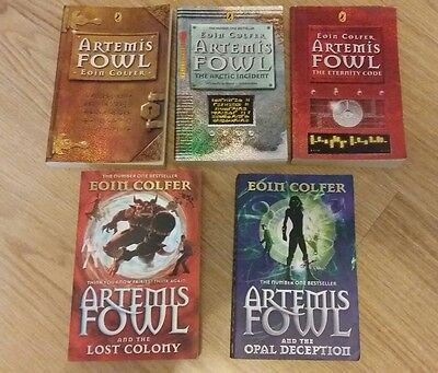 Eoin Colfer Artemis Fowl First 5 Books Collection