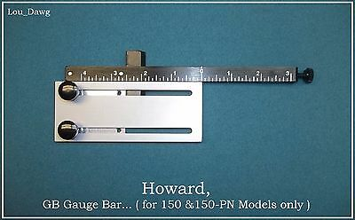 Howard Machine Personalizer ( GB Gauge Bar ) Hot Foil Stamping Machine