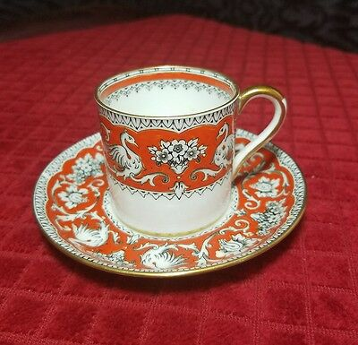 Crown Staffordshire Demitasse Cup and Saucer