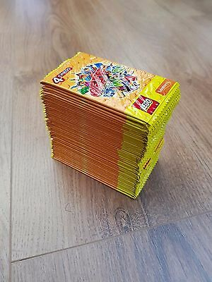 50 Unopened Lego Create The World Trading Card packs from Sainsbury's