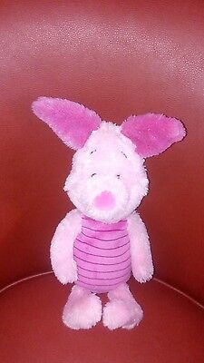 Disney Store Exclusive Core PIGLET Winnie The Pooh Plush Stuffed Animal 13""