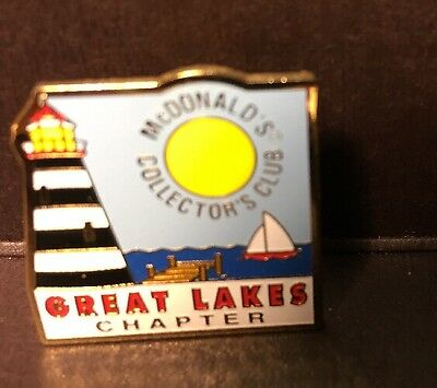 McDonald's Collector's Club Great Lakes Chapter Pinback