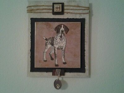German Shorthaired Pointer Wall Hanging