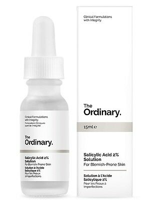 THE ORDINARY Salicylic Acid 2% Solution | Fights Acne Unclog Pores