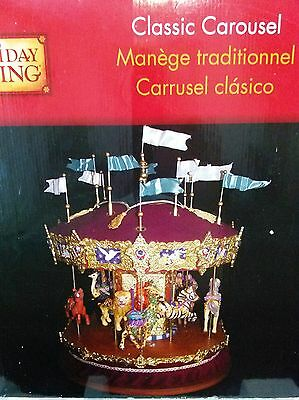 Holiday Creations (Holiday Living) Classic Carousel Lighted Merry-Go-Round