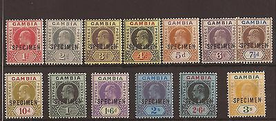 Gambia 1909 - SG72 - 85s fine MNH specimen and normal sets cat £460