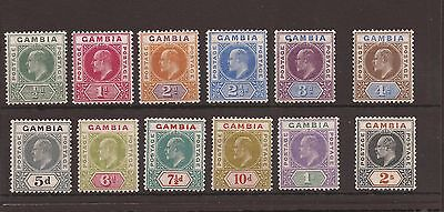 Gambia 1904 - SG57 - 68s fine MNH specimen and normal sets cat £350