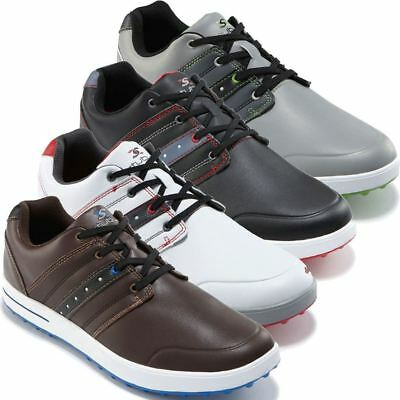 45% Off Rrp Stuburt Mens Urban Casual Spikeless Golf Shoes - Leather