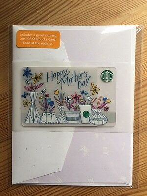 """Canada Series Starbucks """"HAPPY MOTHERS DAY 2017"""" Card Set - New No Value"""
