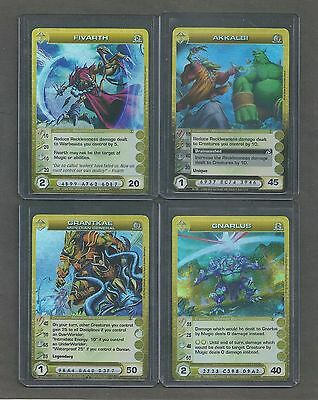 Lot Of 12 Chaotic Mipedian Cards