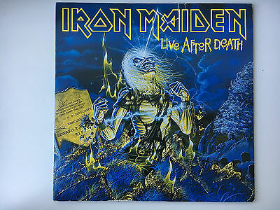 "Iron Maiden - Live after death, Album 2x12"", vinyl"
