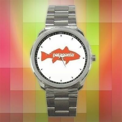 SEASON 2018 Patagonia Redfish Logo Fly Fishing Reel Sport Metal Watch