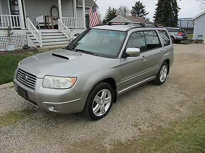 2007 Subaru Forester Xt Limited 2007 subaru forester xt limited in showroom condition