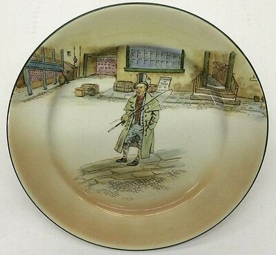 """Royal Doulton Dickens Ware Collector Plate """"Barkis"""" D3020"""