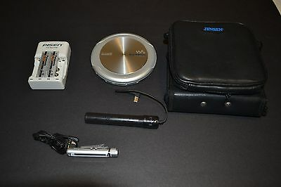 Sony D-NE9 Portable CD Player Walkman Discman Tested + Extras