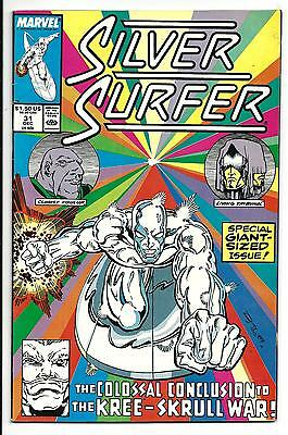 Silver Surfer # 31 (Giant Sized Issue, Dec 1989), Vf/nm