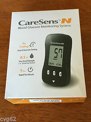 CareSens N Blood Glucose Monitoring System Brand NEW