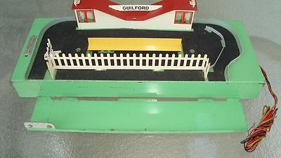 Vintage American Flyer Guilford Operating Station Nice Clean Working