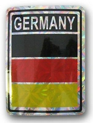 NEW INDIANA  PRISMATIC REFLECTIVE FLAG STICKER DECAL FREE SHIPPING