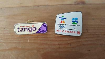 Air Canada TANGO Air & 2010 Vancouver Winter Olympics Pin