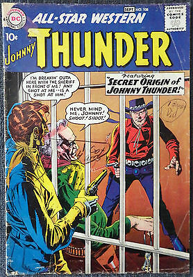 All Star Western #108 - The Secret Origin of Johnny Thunder! Trigger Twins!