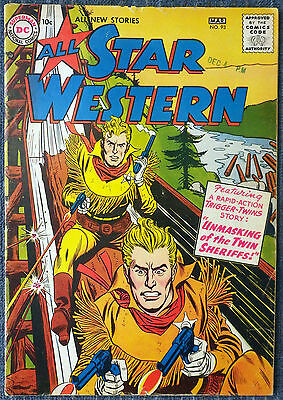 All Star Western #93 - Trigger Twins! Johnny Thunder! Strong Bow! Foley!