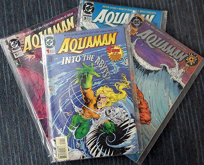 Aquaman (1994 series) #0 - #5, Annual #1 - High Grade!