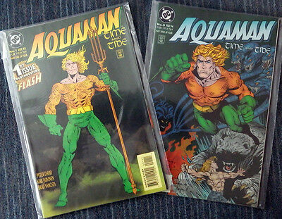 Aquaman: Time and Tide 4 issue mini-series - High Grade!