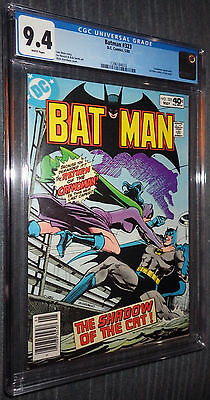 Batman #323 CGC 9.4 White pages  - Shadow of the Cat! Catwoman! Cat-Man!
