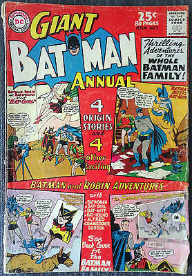 Batman Annual #7 (1964) - Thrilling Adventures Batman Family! - Giant 80 Pages!!