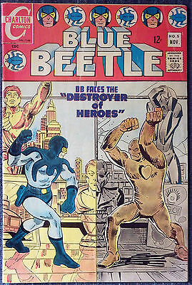 Blue Beetle #5 - Ditko! Blue Beetle and Question stories!
