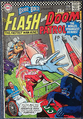 Brave and the Bold #65 - The Flash & The Doom Patrol!