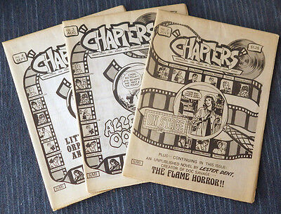 Chapters - Issues #2 #3 #4 - Very Nice Condition!