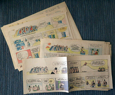 Crock 41 Sunday comic strips 1975 to 1977 - Bill Rechin & Brant Parker