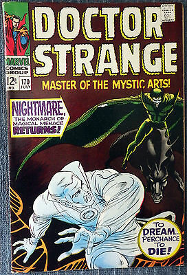 Doctor Strange #170 - Nightmare returns! Very nice copy!
