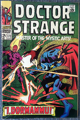Doctor Strange #172 - I, Dormammu! Gene Colan and Tom Palmer! Very nice copy!