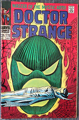 Doctor Strange #173 - Dormammu defeated! Gene Colan! Tom Palmer! Very nice copy!