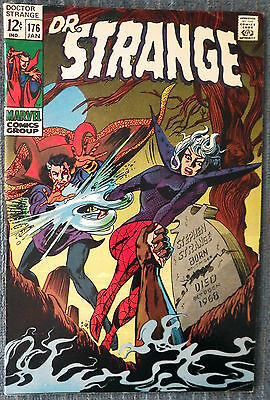 Doctor Strange #176 - Sons of Satannish! Gene Colan! Tom Palmer! Very nice copy!