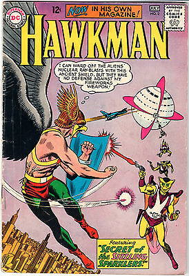 Hawkman #2 - Secret of the Sizzling Sparklers!