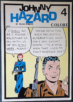 Johnny Hazard #4 - Pacific Comics Club - 1947 strips - Beautiful reproduction!
