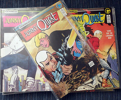 Jonny Quest - Comico - All 36 Issues - Terrific series! High Grade!