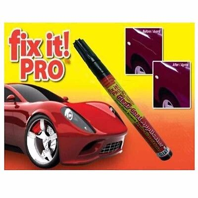 Fix It Pro Car Scratch Repair Remover Pen Clear Coat Applicator Tool for Simoniz