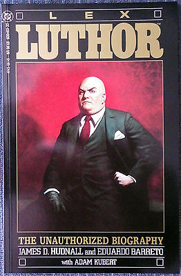 Lex Luthor: The Unauthorized Biography #1 - High Grade!