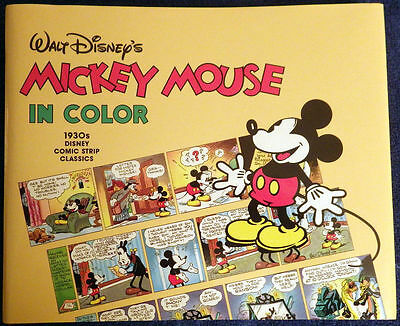 Mickey Mouse in Color hardcover - Pantheon 1988